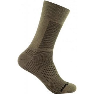 WRIGHT SOCKS COOLMESH II CREW KHAKI