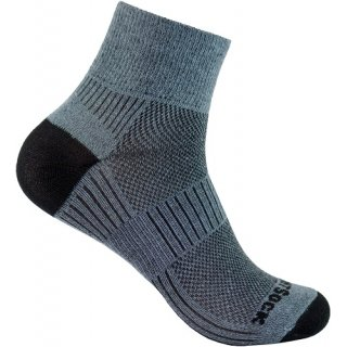 WRIGHT SOCKS COOLMESH II QUARTER GREY