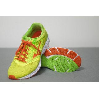 MIZUNO WAVE SHADOW M SYELLOW/ RED ORANGE/ JGREEN