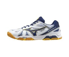 MIZUNO WAVE MEDAL 5 WHT/BLK/BLUE ASTER