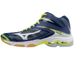 MMIZUNO WAVE LIGHTNING Z3 MID M BLUE DEPTHS/WHT/SYELLOW