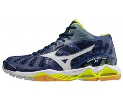 MIZUNO WAVE TORNADO X MID M BLUE DEPTH/WHT/SYELLOW