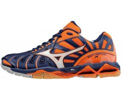 MIZUNO WAVE TORNADO X M Orange Clown Fish/White/Black