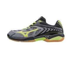 MIZUNO WAVE FANG SL STELL GREY/SYELLOW/ BLACK