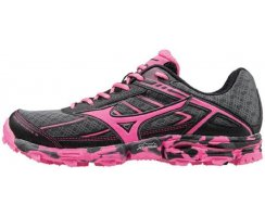 MIZUNO WAVE HAYATE 3 W DARK SHADOW/PINK GLO/BLACK