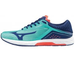 MIZUNO WAVE SONIC W TURQUOISE/BLUEDEPT/FCORA