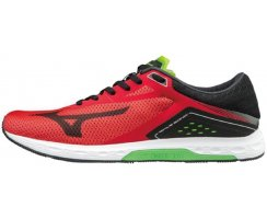 MIZUNO WAVE SONIC MEN FORMULA ONE/BLACK/GREEN SLIM