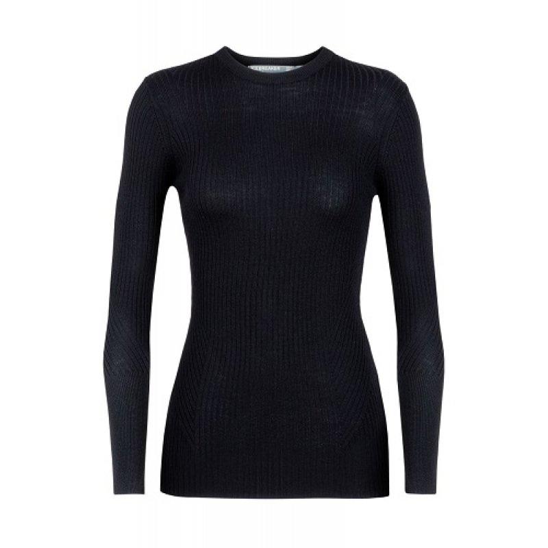 Merino Wool Icebreaker Merino Womens Valley Slim Crew Neck Sweater