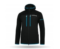 MARTINI SPORTSWEAR X-ALP PLUS MENS JACKET BLACK BLUE