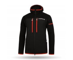 MARTINI SPORTSWEAR X-ALP PLUS MENS JACKET BLACK RED