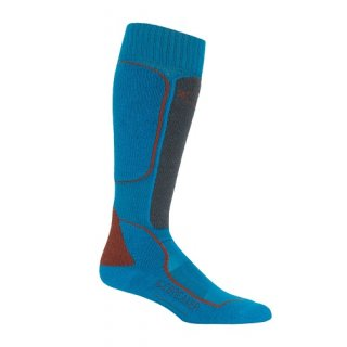 ICEBREAKER MENS SKI+MEDIUM OVER THE CALF ALPINE/MONSOON/SADDLE