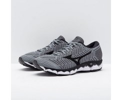 MIZUNO MEN WAVEKNIT S1 TRADEWINDS/BLACK/SILVER
