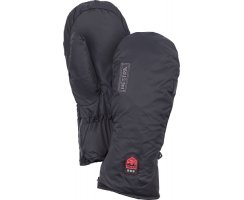 HESTRA HEATED LINER MITT BLACK