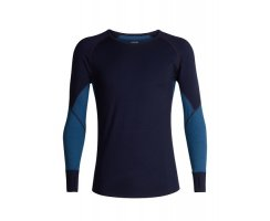 ICEBREAKER MENS 260 ZONE LONG SLEEVE CREWE MIDNIGHT...