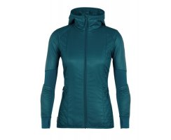 ICEBREAKER WOMENS HELIX LONG SLEEVE ZIP...