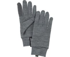 HESTRA HEAVY MERINO WOOL TOUCH POINT 5 FINGER GREY
