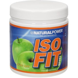 Natural Power Isofit 400g Grüner Apfel