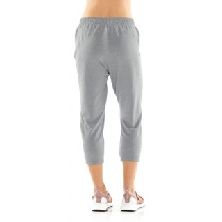 ICEBREAKER WOMENS COOL-LITE? MOMENTUM 3Q PANTS  Fossil/Snow Heather