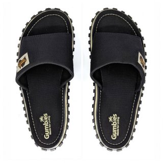 GUMBIES UNISEX SLIDE BLACK