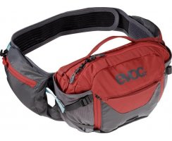 Evoc-HIP PACK PRO 3l + 1,5l Bladder-carbon grey - chili...