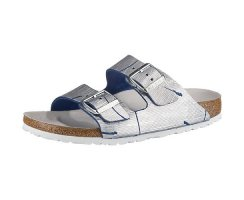 BIRKENSTOCK ARIZONA RIVET LOGO REGULAR FIT MET.CUTS OZEAN