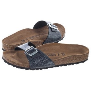 BIRKENSTOCK UNISEX MADRID BS NARROW FIT COSMIC SPA. ANTHRACITE