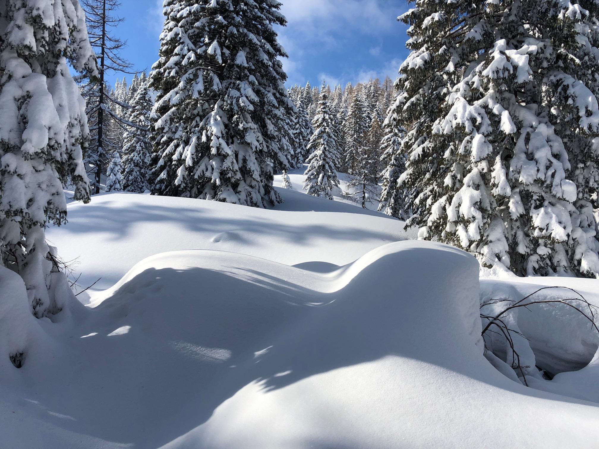 Nassfeld  - Marditschen - Skitour